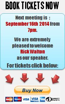 PEN KENT MEETING | RICK WALTON | 16th SEPT 2014